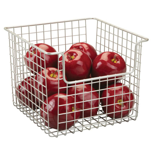 Interdesign Classico Collection - Open Front Pantry Basket - Medium (ID 90935)