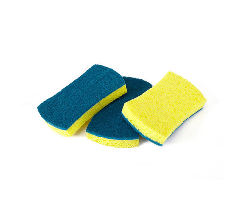 Full Circle Refresh Two-in-One Scrubber Sponge - 3 Pack (FC 15214)