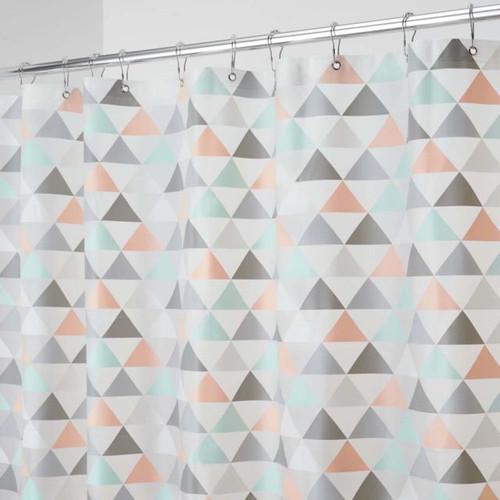 Interdesign PEVA Printed Shower Curtain - Triangles (ID 59841)