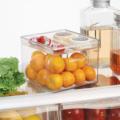 Interdesign Fridge Binz - Kitchen Bin with Removable Divided Tray
