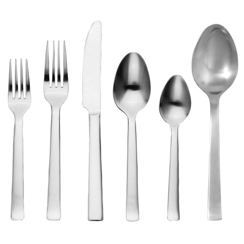 Ginkgo Select Collection - Norse - 42 Piece Service for 8 (8 - 5 Pc. Place Settings and 2-Serving Spoons) (GK 33142-5)