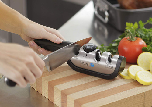 Kitchen IQ Angle Adjust - Adjustable Manual Sharpener (SCP 50146)