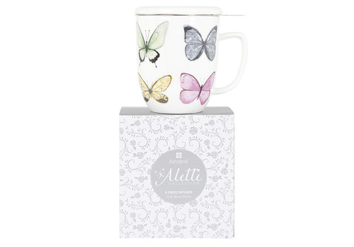 Alette Tea Mug with infuser and gift box