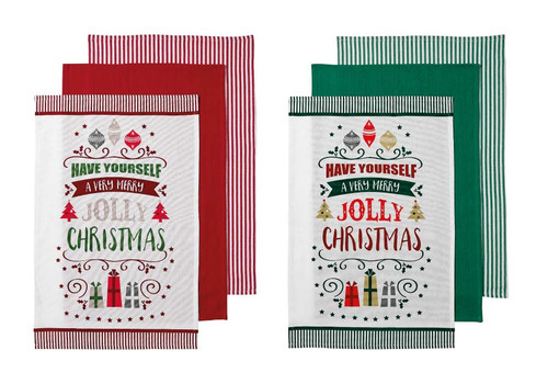 Ladelle Very Merry Assorted Collection
