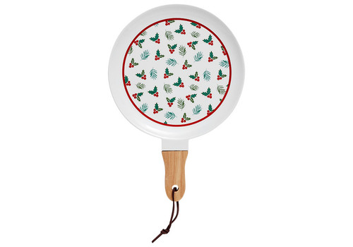 Ladelle Christmas Tradition Collection - Platter Serve Stick - 29cm - Holly Berries