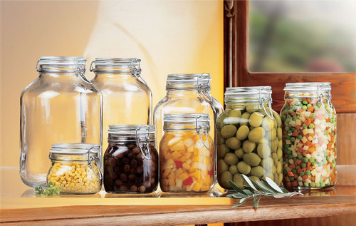 A fido jar can be used to store just about anything.
