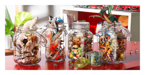 The 2L Fido jar is perfect for storing toys