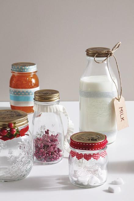 Quattro Stagioni Milk Bottle - 1L (33.75 oz) (BR 365600MDE121373)