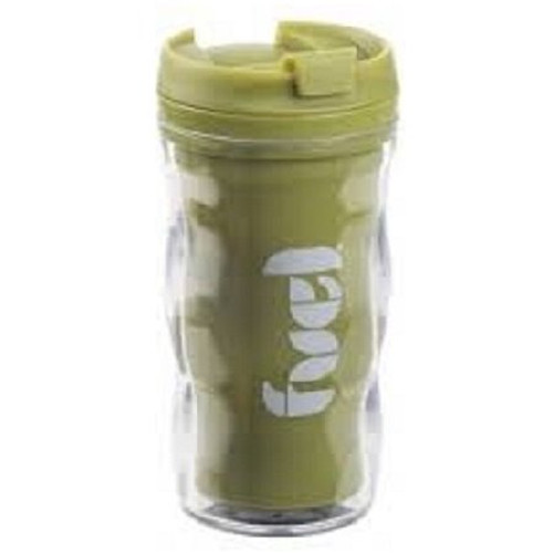 Trudeau Fuel Double Wall Sipper - 8 oz. - Lime
