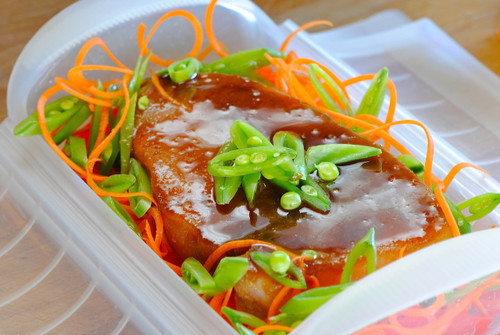 Steamed healthy meals in minutes.