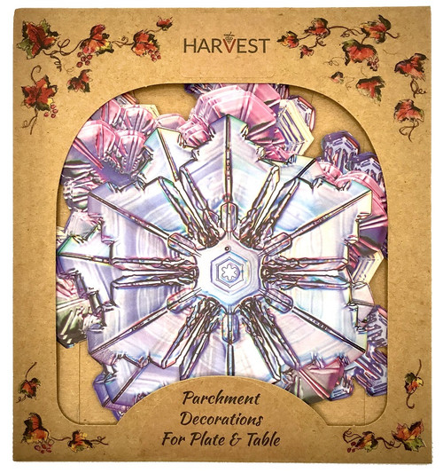 Sisson Parchment Harvest Leaves - Snowflake - Pack of 20 (SD 1113)