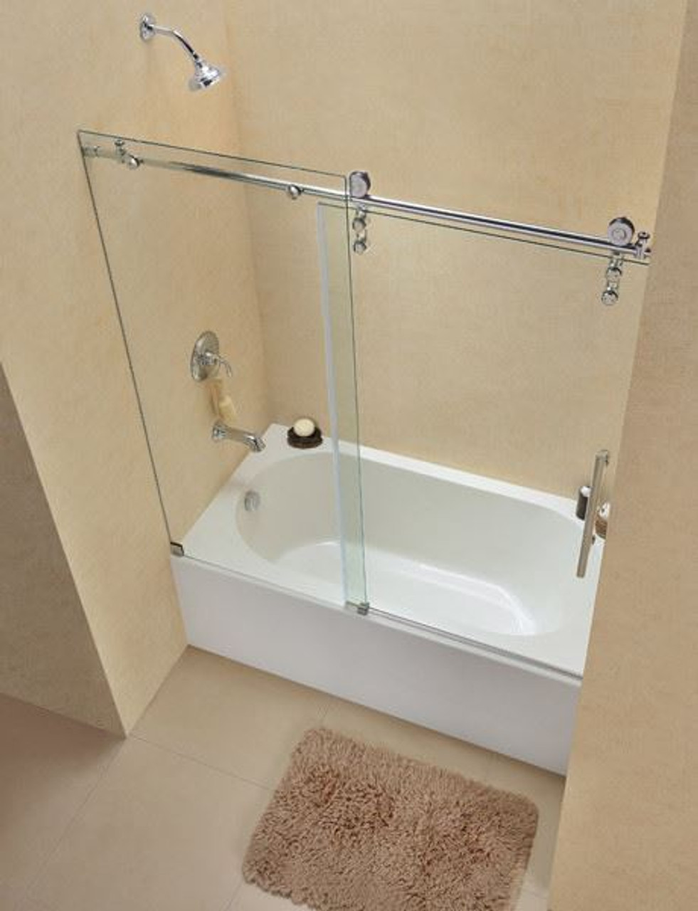 Frameless Tub Shower Doors Dreamline Enigma Z