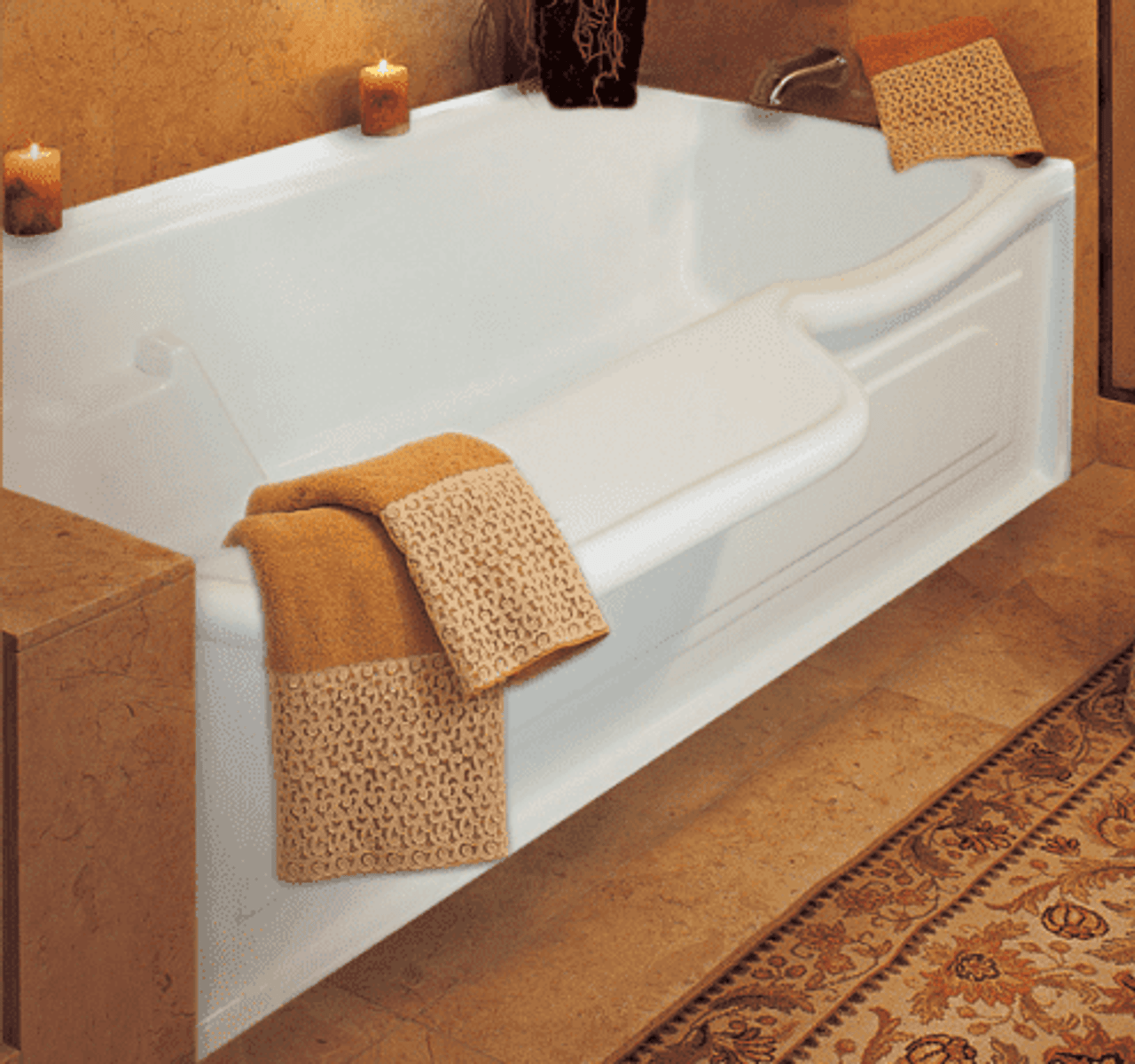 Newedge Bathtub Bathtub With Seat Built In The Edge