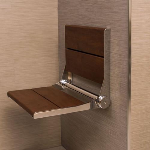 Folding Ada Shower Seat 32 Inch Wide Invisia