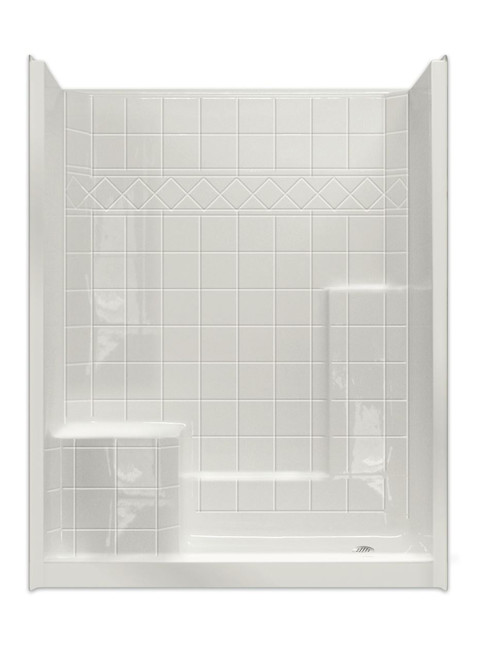 60 X 32 Shower | Built-in Seat | Tub to Shower