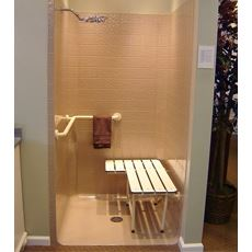 One Piece Shower Stall