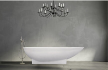 Freestanding Tub and Faucet Kits