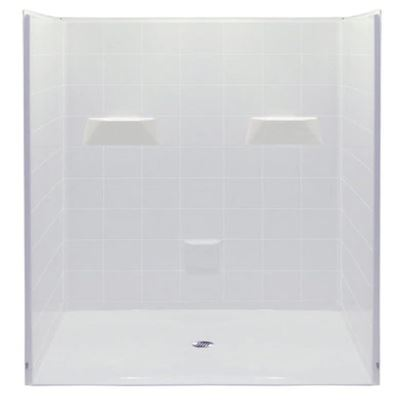 60 X 48 Curbless Shower Stall | Made in USA