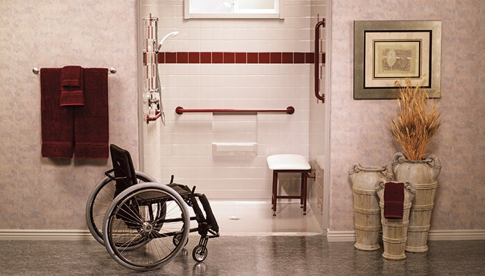 An Accessible Shower