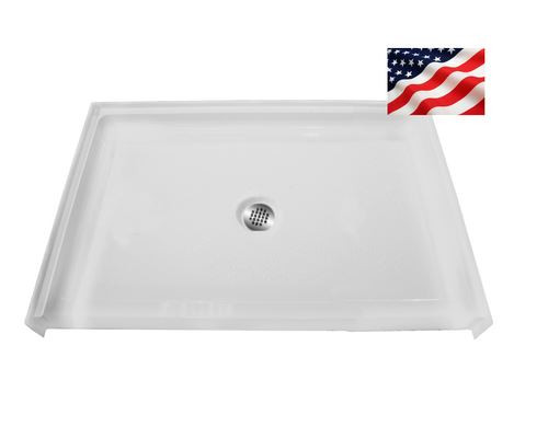 Roll In Shower Pan.48 X 36 Shower Base Roll In Shower Access Us Made