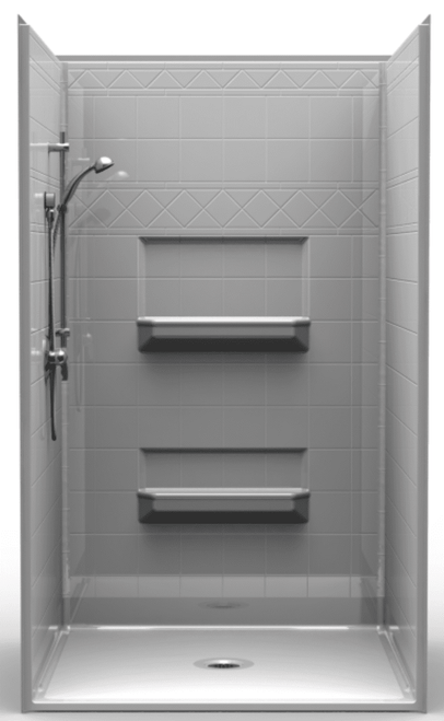 48 X 48 Roll In Shower Stall Accessible Shower