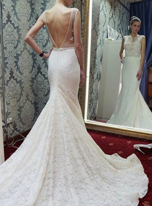 Cheap wedding dresses 2017 Cheap wedding dresses 2017 Mermaid Long White Lace