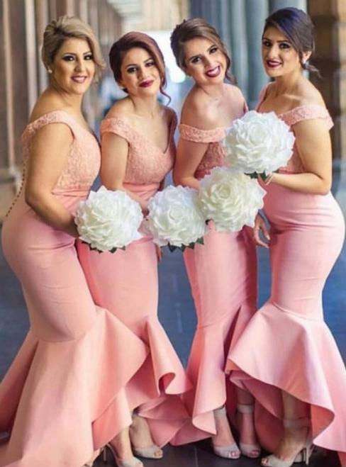 Charming Bridesmaid Dress Mermaid Bridesmaid Dresses