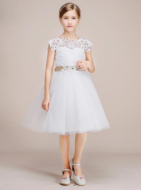 f79b007d2ce Tulle flower girl dress Girls  Flower Girl Dresses
