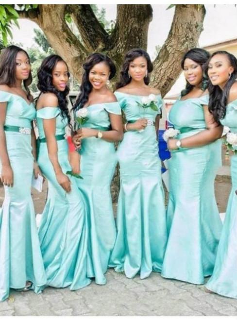 Cheap bridesmaid dresses 2017 Bridesmaid Dresses 2017 Custom Made Mermaid