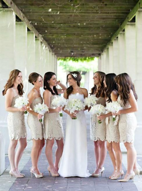 Cheap bridesmaid dresses 2017 lace bridesmaid dress short bridesmaid dress Cheap bridesmaid dress