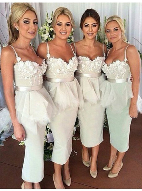 Cheap bridesmaid dresses 2017 Bridesmaid Dresses 2017 Customized Mermaid Sleeveless