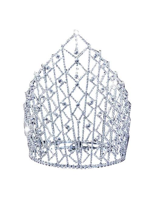 Luxury Bride Crown New Shining Crown Diamond Crown
