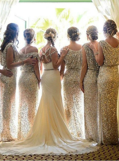 sparkle bridesmaid dress  long bridesmaid dress  sequin bridesmaid dress