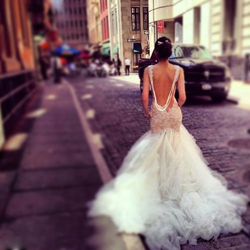 Cheap wedding dresses 2017 Sexy Low Cut Open Back Wedding Dress Mermaid
