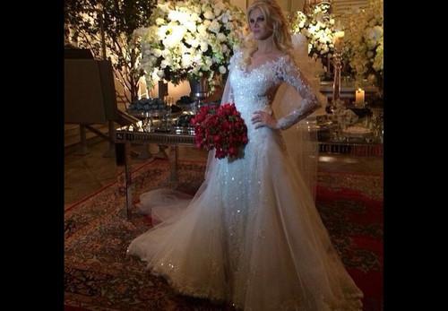 Custom Made New Fashionable A Line Long Sleeve Lace Wedding Dresses 2017