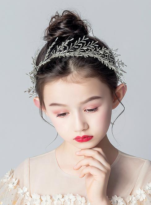 Princess Dress Flower Hairband Handmade Accessories