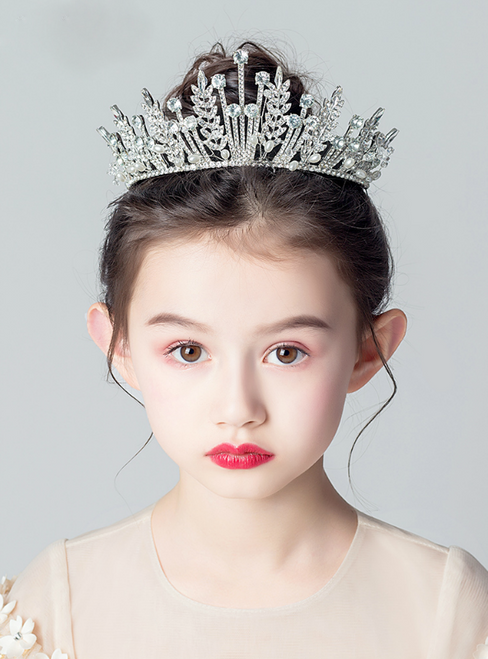 Beautiful Children's Crown tiara Princess Girls Crown Diamond