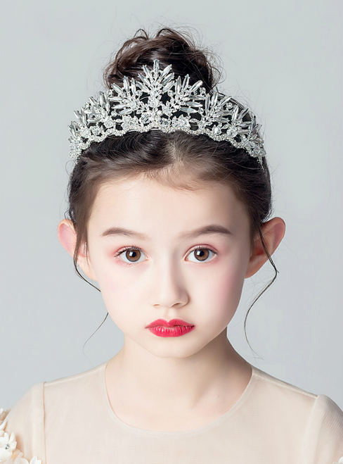 Girl's Crown Tiara Princess Girls Crown Diamond