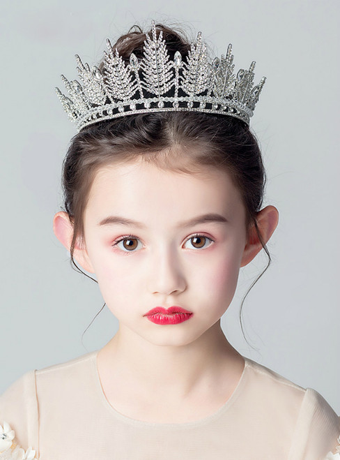 Big Crown Tiara Princess Girls Crown Diamond