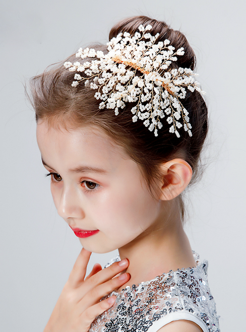 Fashion Handmade Beads for Girl's Hair Accessories