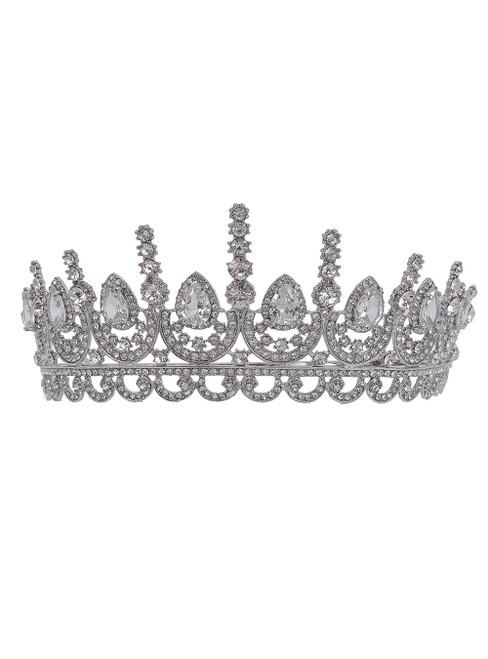 Zircon rhinestone Bride Diamond Crown Tiara