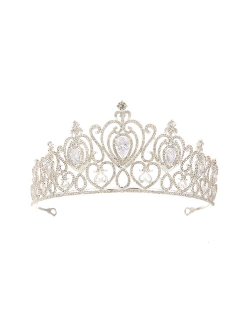 Bride Zircon Crown Rhinestone Princess Crown
