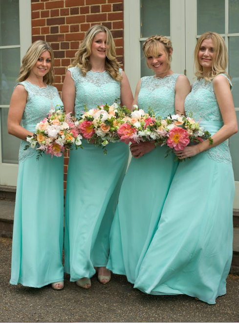Sheath/Column Bridesmaid Dresses Prom Dresses Chiffon Prom Dress/Evening Dress