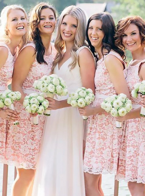 Charming Bridesmaid Dress Short Lace Bridesmaid Dresses Elegant Bridesmaid Dresses