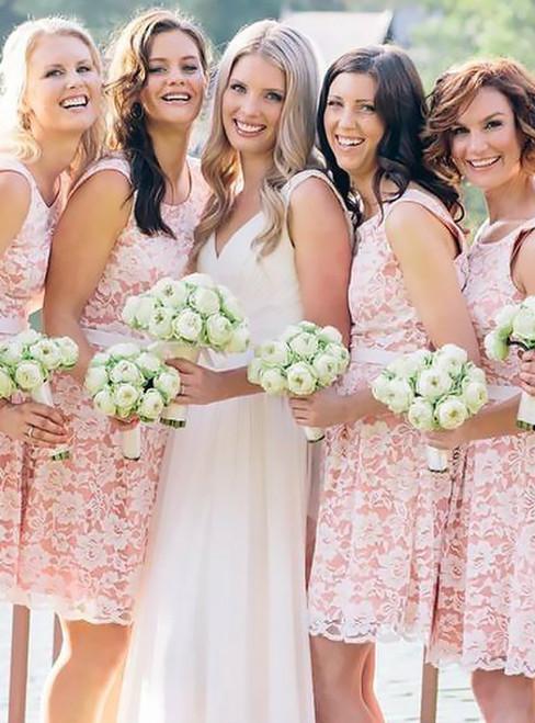 Charming Bridesmaid Dress Short Lace Bridesmaid Dresses Elegant Bridesmaid Dresses