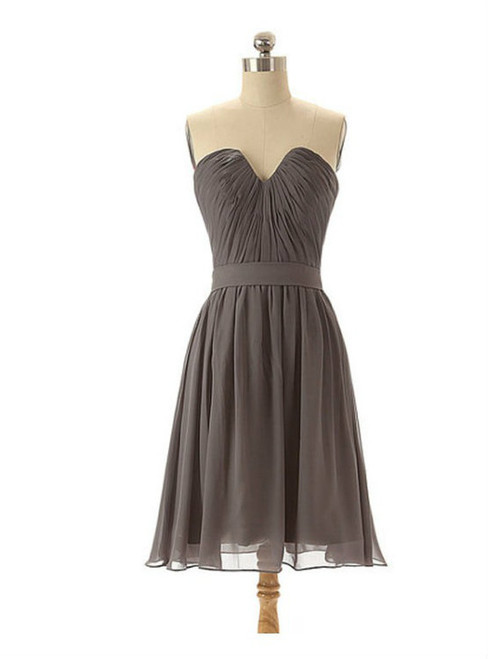 Grey bridesmaid dresses chiffon bridesmaid dresses short bridesmaid dresses