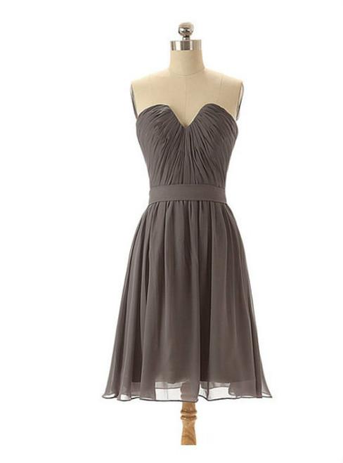 Grey bridesmaid dresses chiffon bridesmaid dresses short bridesmaid dresses