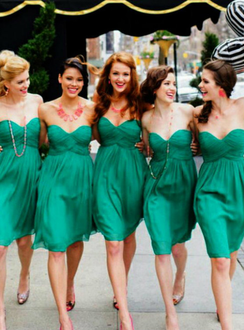 2017 New Style Bridesmaid Dress Green Bridesmaid Gowns Bridesmaid Dresses