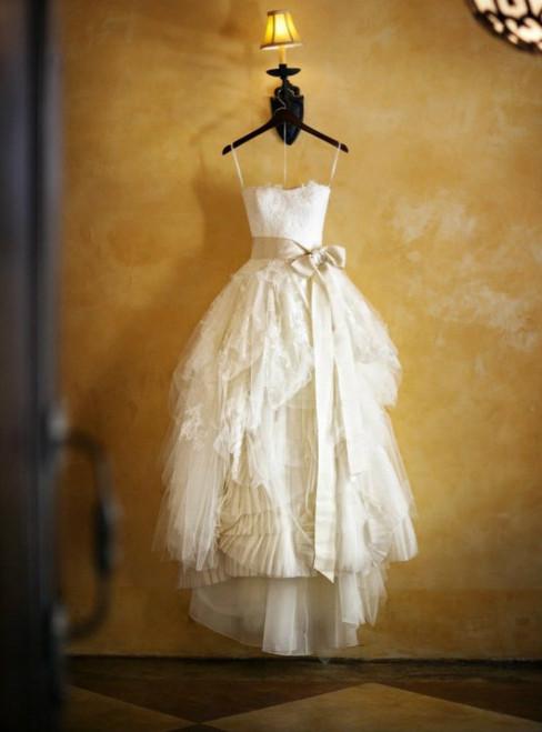 Custom Sweetheart Ivory Floor Length Vintage Lace Wedding Dresses 2017 Gowns