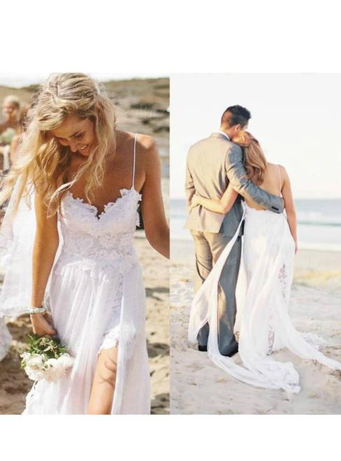 Beach Wedding Dresses 2017.Modest Beach Wedding Dresses 2017 Open Back Outdoor Summer Weddings Dress